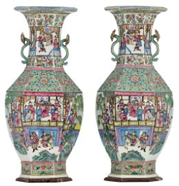 An exceptional pair of Chinese turquoise glazed and
