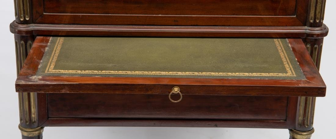 A fine French Louis XVI style bureau a cylindre after - 5