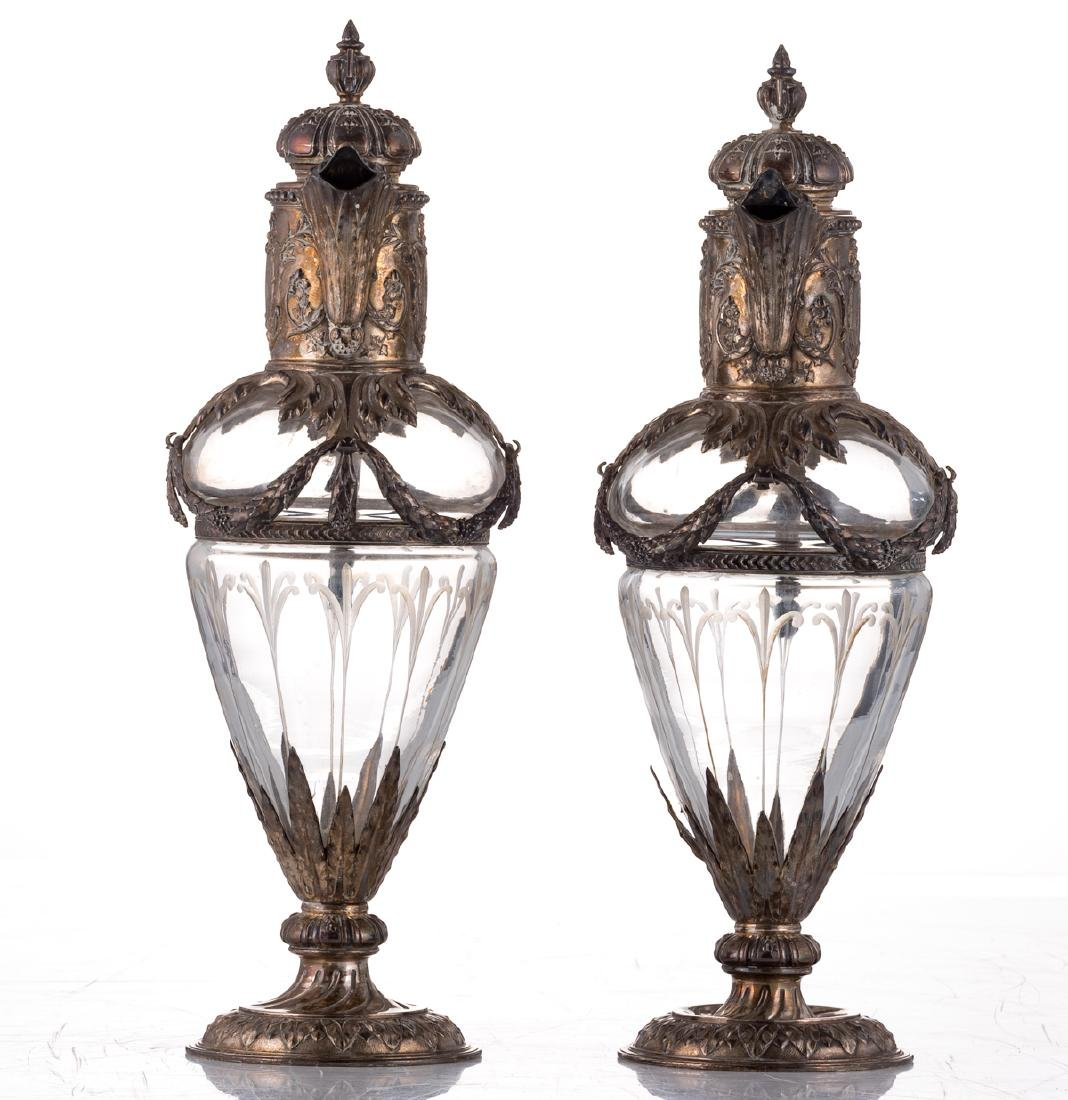 A pair of late 19thC French Renaissance Revival cut - 2
