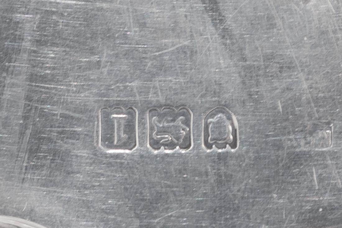 A French neoclassical silver cruet, hallmarks between - 2