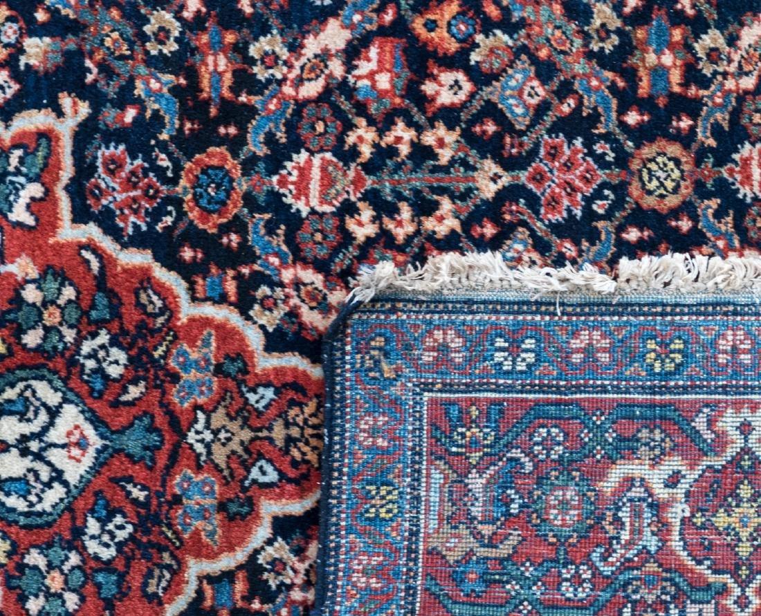 An Oriental woollen carpet, Sarough, 130 x 194 cm; - 3