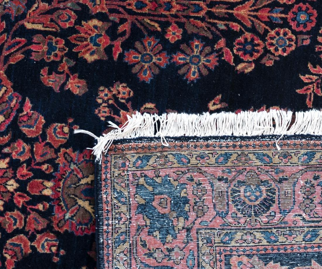 An Oriental woollen carpet, Sarough, 130 x 194 cm; - 4