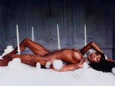 LaChapelle David, Naomi Campbell, 'Bon apetite', 1999,