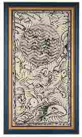 Alechinsky P., 'Vanite Citadine', dated 1987, oil on