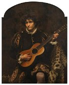 Scott A., the portrait of a young noble man with a