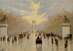 Simons J.J., 'Avenue des Champs Elysees', with