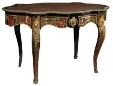 An exceptional Napoleon III, Louis XIV inspired, Boulle