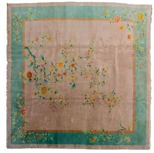 A Chinese rug, Art Deco, wool, 360 x 358 cm