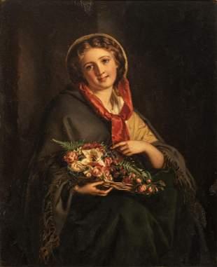 Samuel B. Hallé (1824-1889), 23 x 28 cm