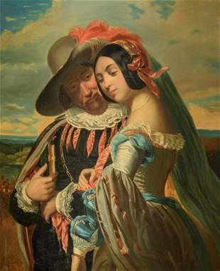 Henriette Lorimier (1775-1854), 82 x 100,5 cm