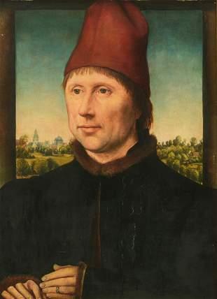 After Hans Memling (c. 1430-1494), 29,5 x 41 cm