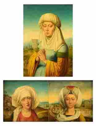 Two fine copies after Rogier van der Weyden, attributed