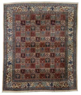 An Oriental Mud rug, wool and silk, 241 x 289 cm