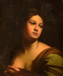 (Circle of) Carlo Maratta (1625-1713), portrait of a