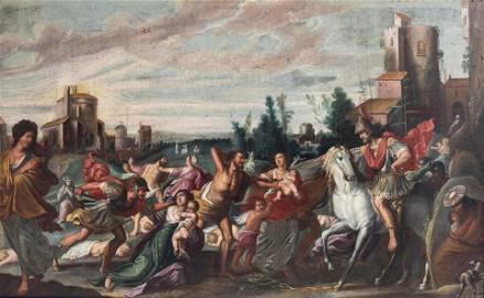 Karel van Mander (Attr.), the Infanticide in
