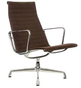 An Eames EA116 lounge chair, Vitra, H 90 - W 62 cm…