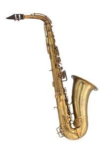 A rare MIB bréveté alto saxophone, serailnr. 12948,