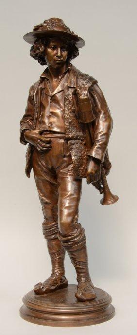 Moreau Vauthier A., The Piper,thiebaut Frères Fondeurs