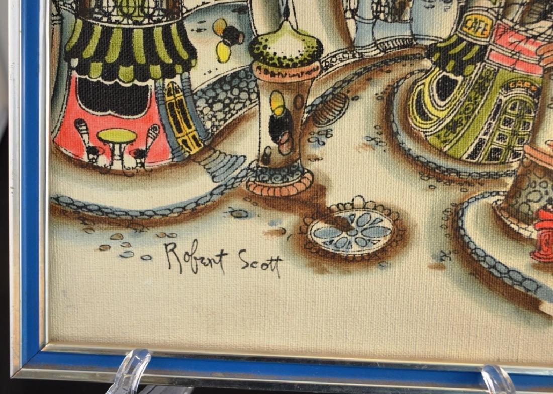 Pair of Robert Scott Paintings - 3
