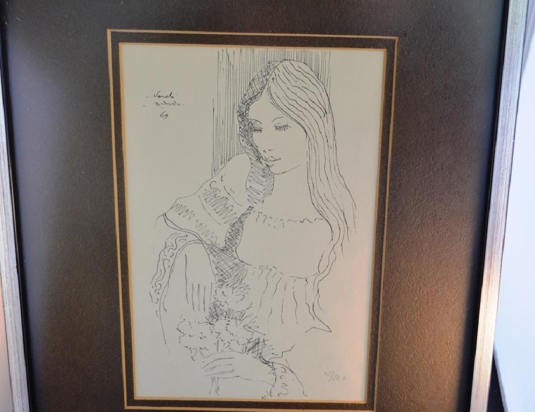 1969 Vandi Lithograph
