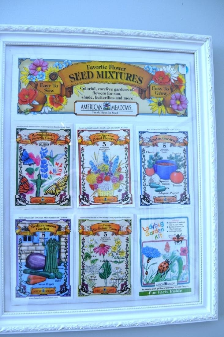 Framed Seed Packages