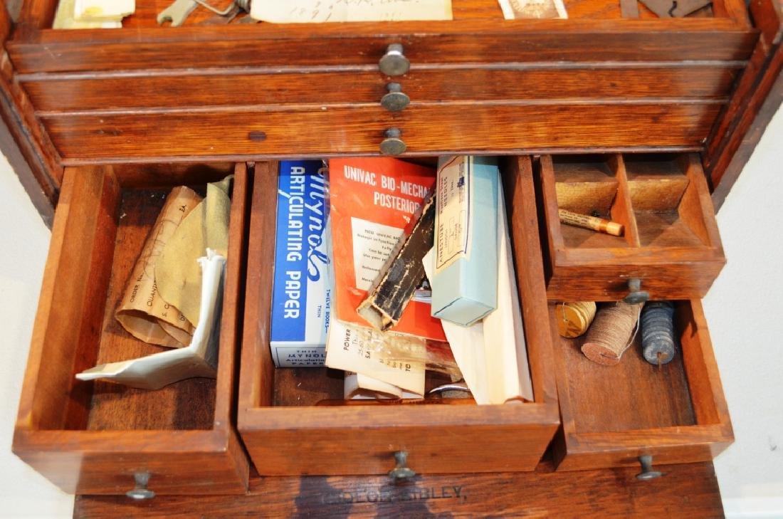 Antique Dental Tool Box