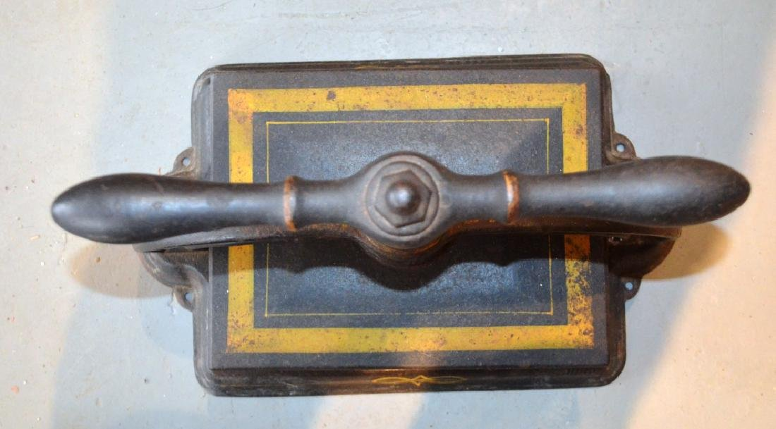 Antique Cast Iron Book Press Binder - 4
