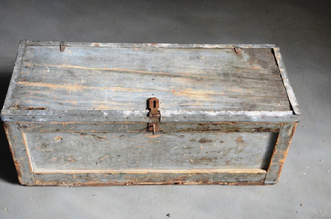 Vintage Gray Tool Box