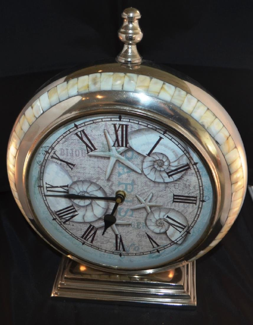 Prestige Chrome Quartz Mantle Clock