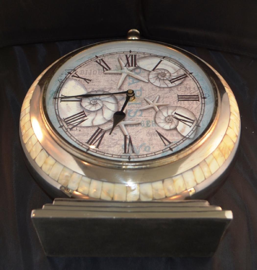 Prestige Chrome Quartz Mantle Clock - 2