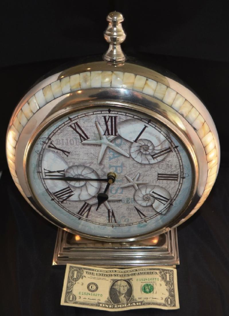 Prestige Chrome Quartz Mantle Clock - 3