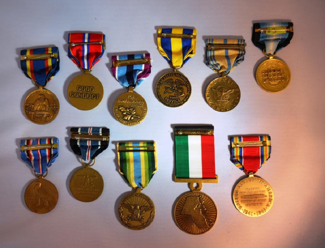 Assorted Lot of Military Medals