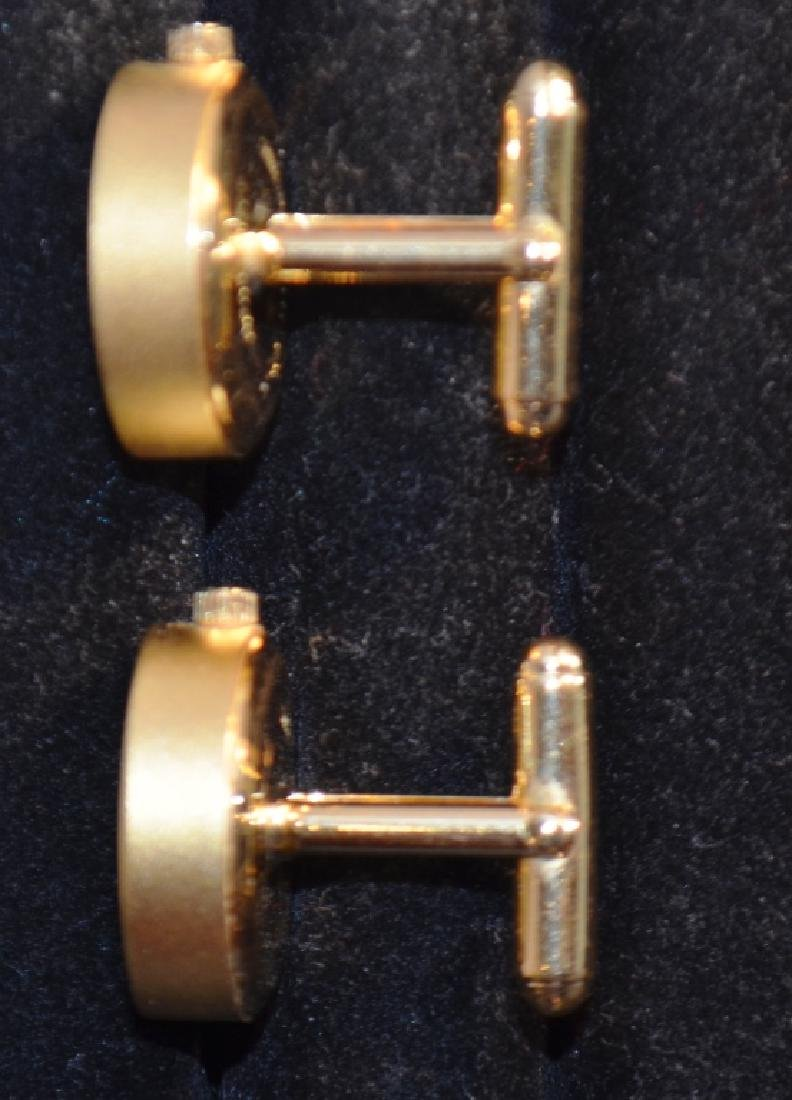 Waltham Goldtone Watch Cufflinks Tateossian - 3