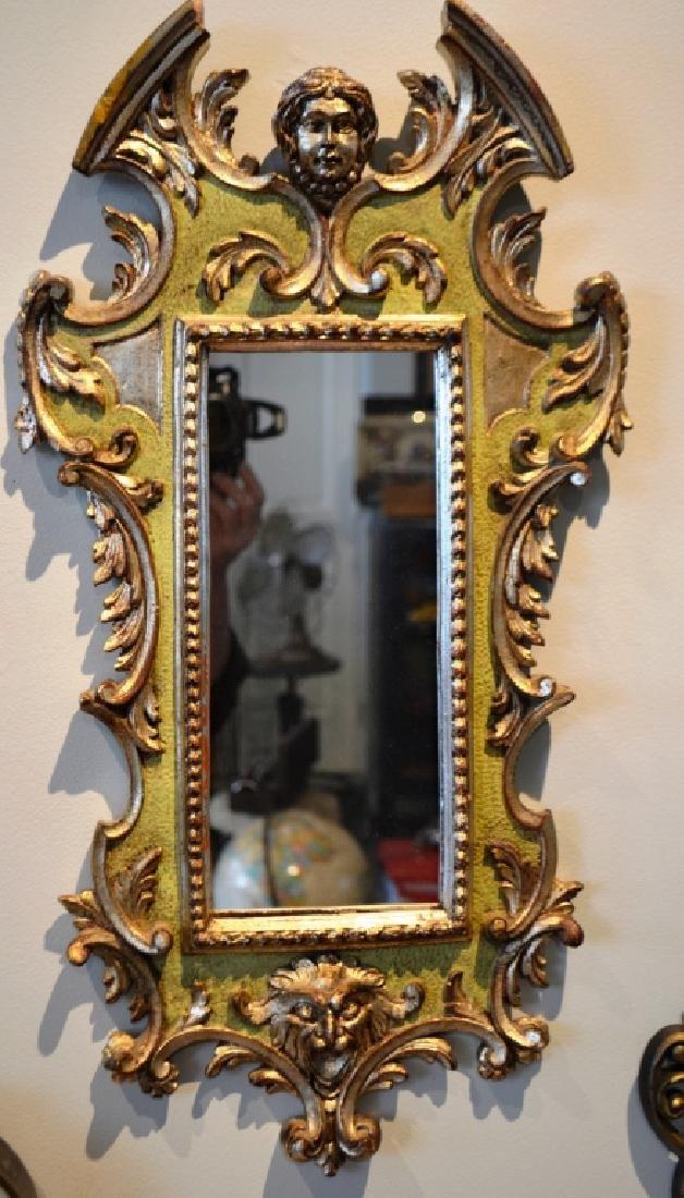 Decorative Wall Mirrors Pair - 4