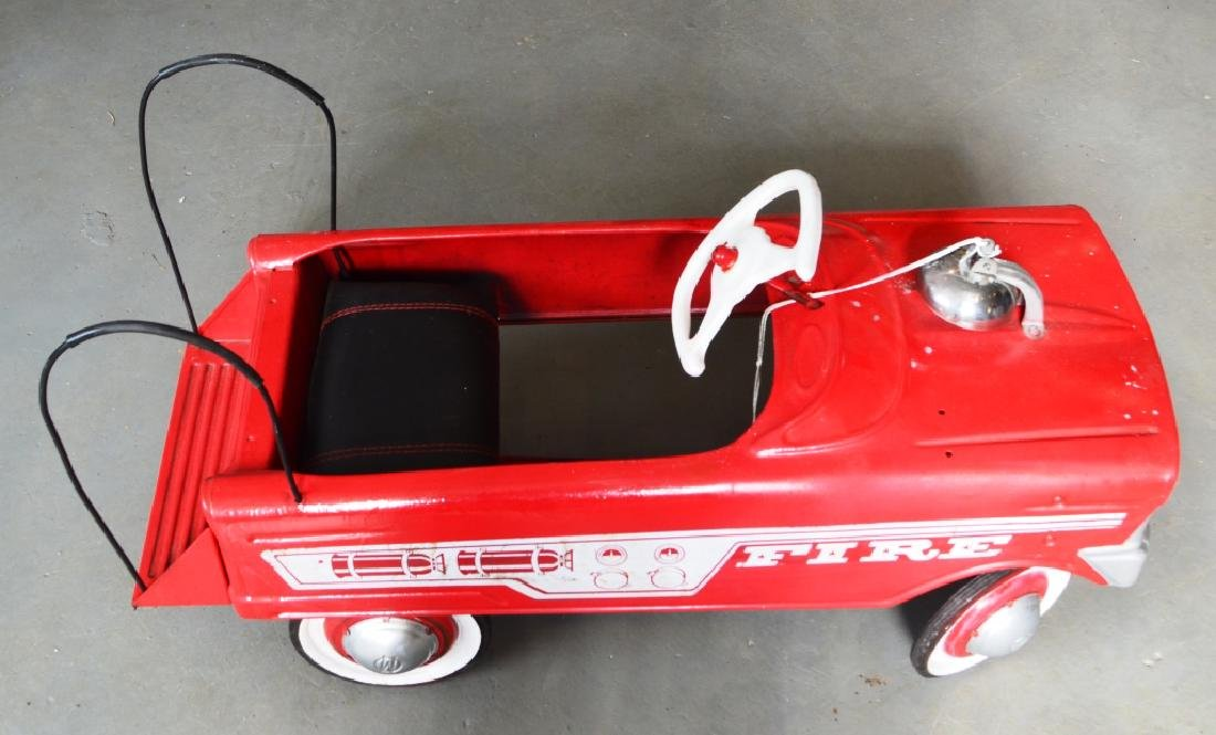 Vintage Murray Pedal Car Fire Truck