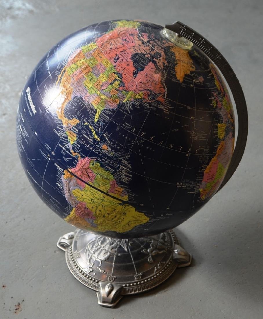 Globemaster Metal Bottom Globe