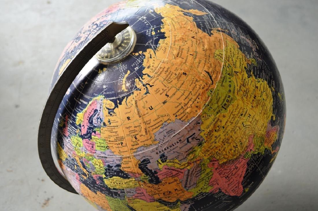 Globemaster Metal Bottom Globe - 5