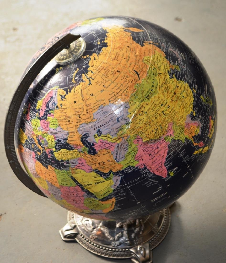 Globemaster Metal Bottom Globe - 6
