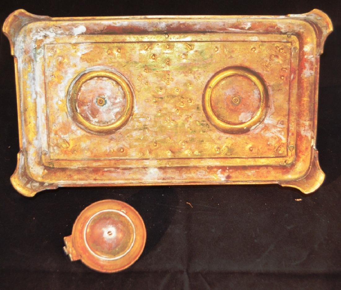Antique Decorative Turkish Inkwell - 2