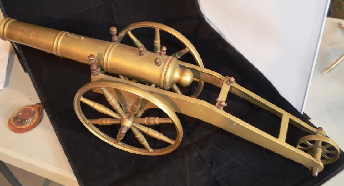 Heavy Brass Cannon 2 Foot Long