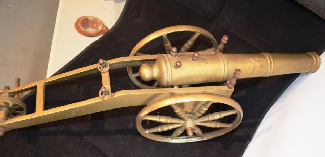 Heavy Brass Cannon 2 Foot Long - 3