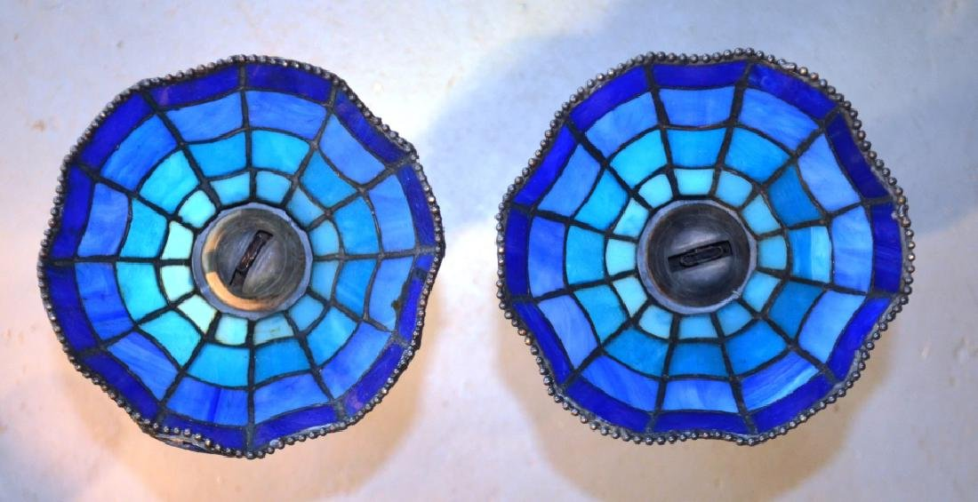 Stained Glass Lamp Shades and Oil Lamp Bases - 2