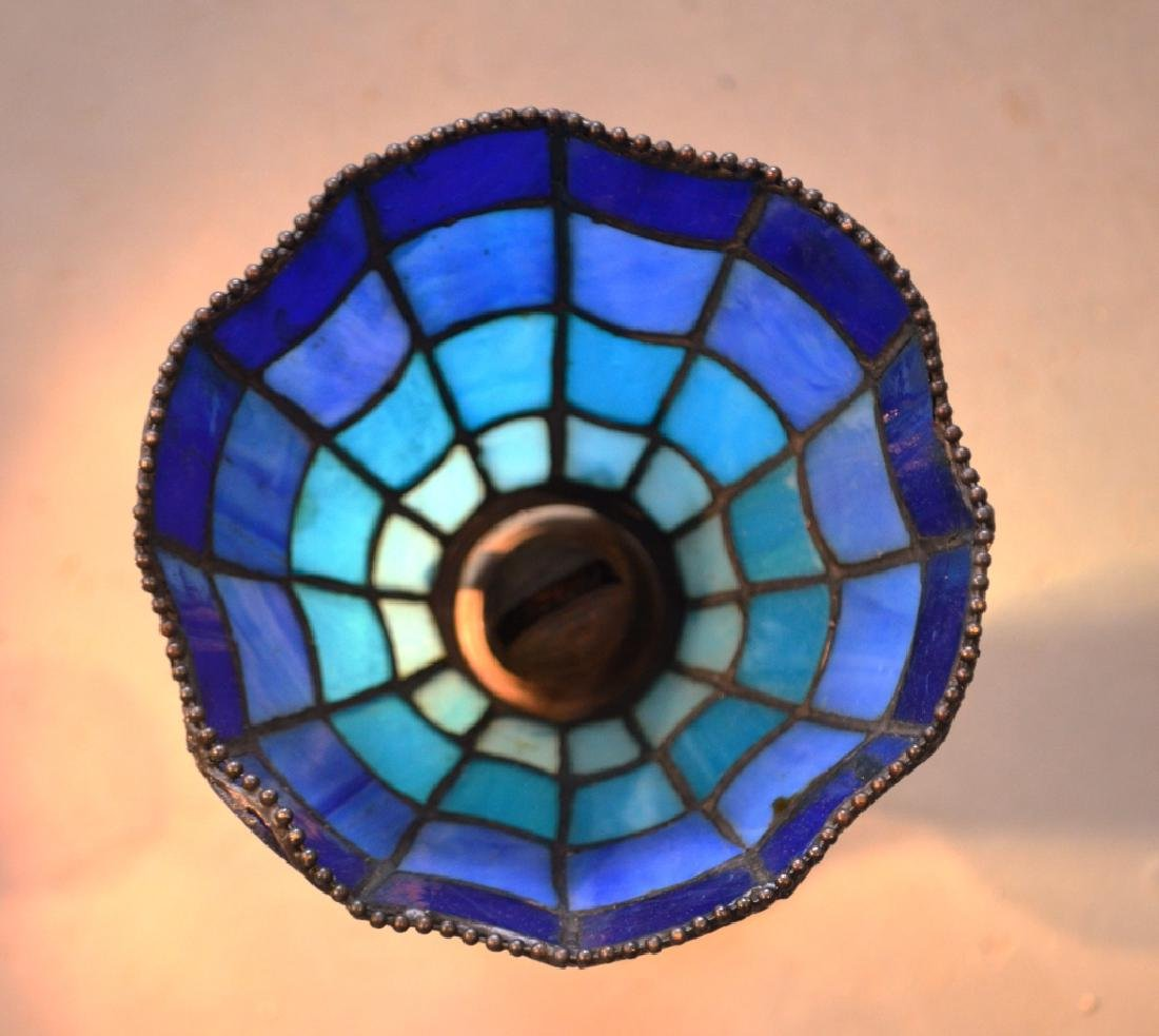 Stained Glass Lamp Shades and Oil Lamp Bases - 3