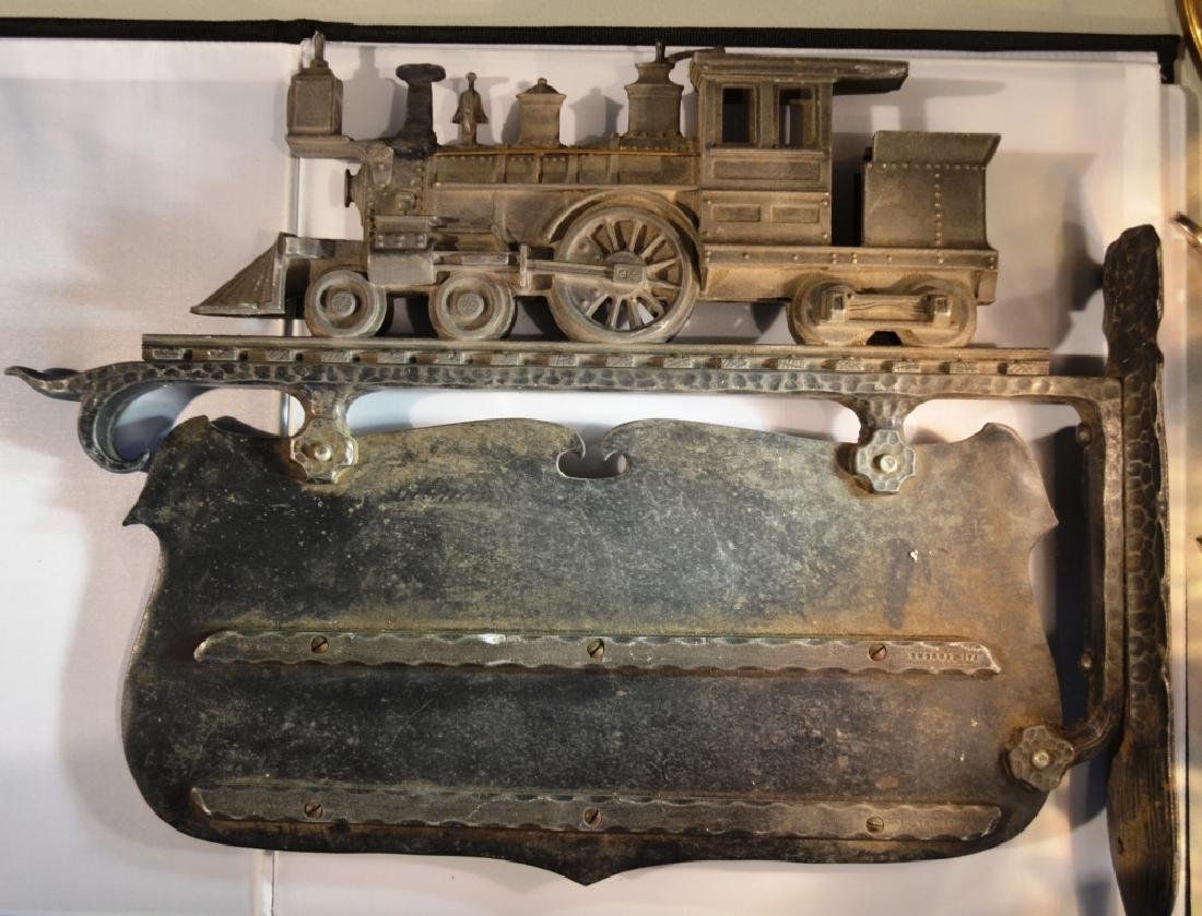 Aluminum Steam Engine Sign