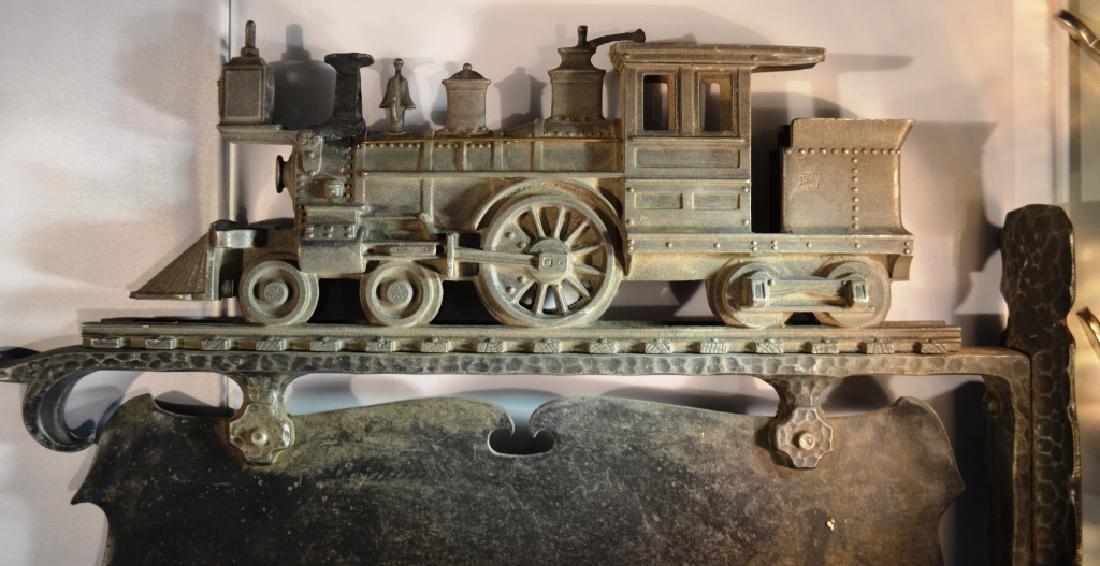 Aluminum Steam Engine Sign - 4