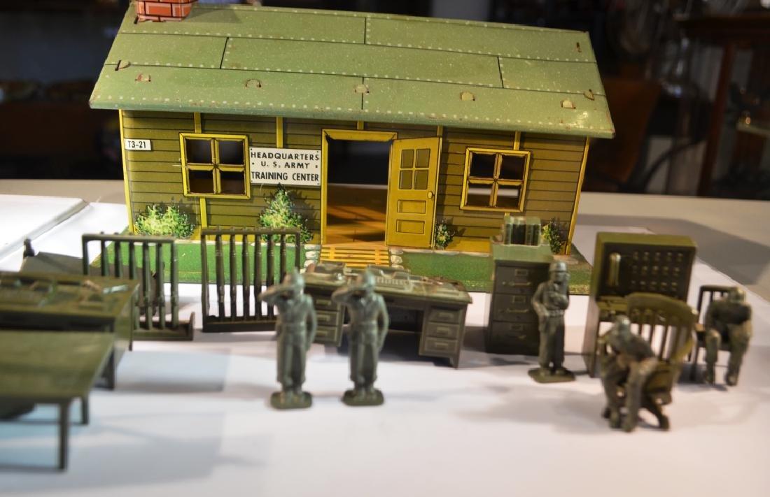 Marx Military Play Set 1950's