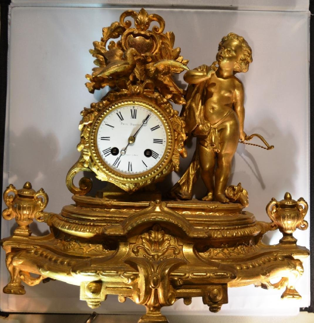 Pell Brothers Ornate Mantle Clock