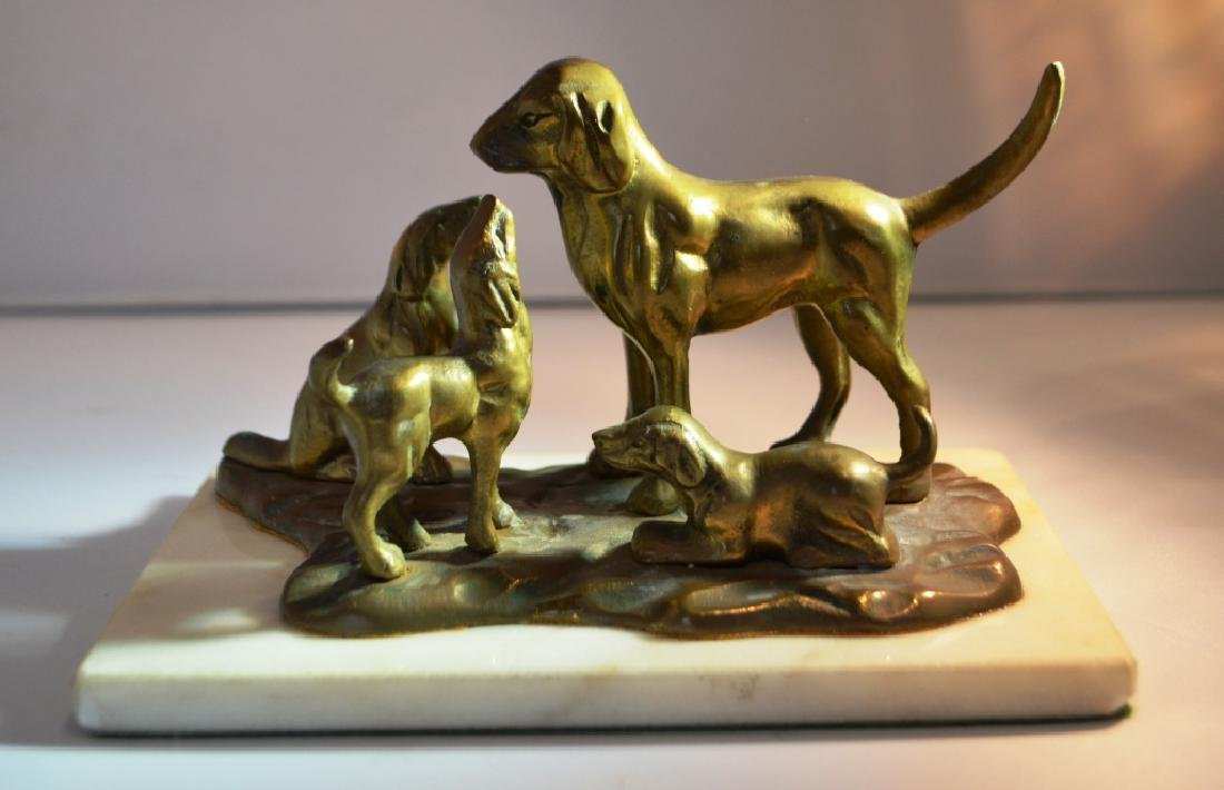 Bronze Grouping of Dogs. - 2