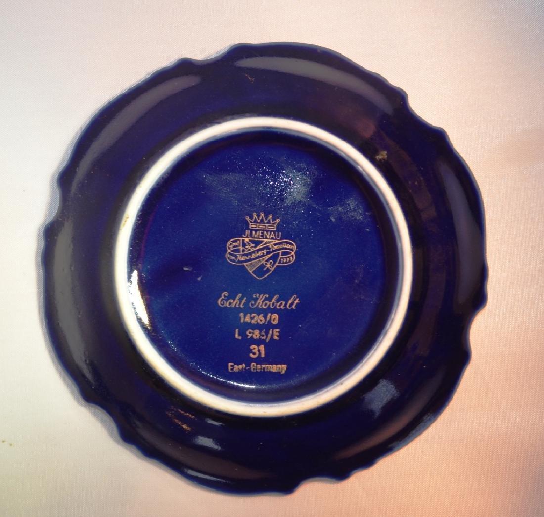 Art Nouveau Porcelain Saucers. - 2