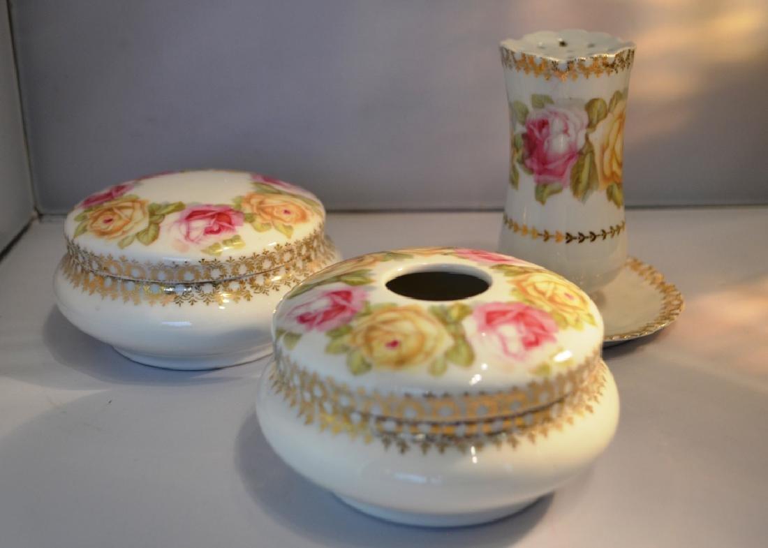 Ladies Porcelain Dresser Set. late 1800's - 4